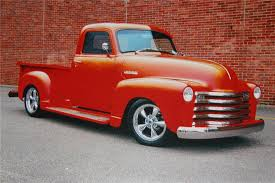 chevy truck with corvette engine tahitian sunset holographic color shift urethane paint