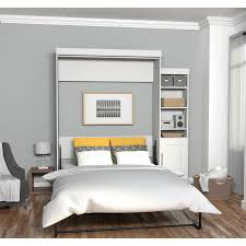 Murphy Bed Shelves Bedroom Attractive Bestar Wall Bed For Modern Bedroom Furniture