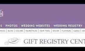 the wedding channel registry weddings