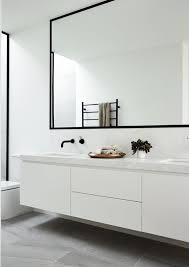 black framed bathroom mirrors black framed bathroom mirror bath schwarz gerahmter badspiegel