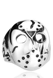 Jason Voorhees Mask Friday The 13th Jason Voorhees Ring Vamers Store