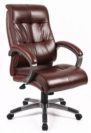 Leather Office Chair Brown Leather Office Chair