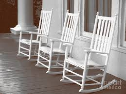 Rocking Chair Patio Furniture by Rocking Chair Art Rocking Chair Porch Painting By Audrey Peaty