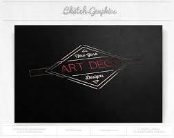 art deco design art deco designs logo template cketch com