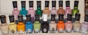 no light gel nail polish sally hansen miracle gel polish no