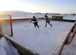 backyard hockey rinks remain a rich winter tradition in canada