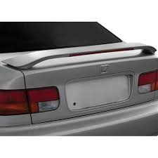 2000 honda civic spoiler ri honda civic 1999 2000 factory style rear spoiler with light
