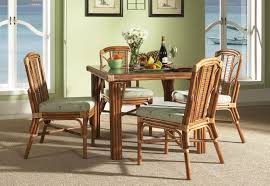 dining room side chairs dining room wicker dinette with modern furniture also all