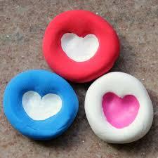 heart gifts fingerprint heart gifts kids can make