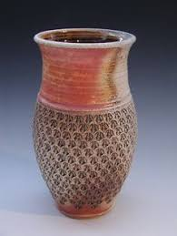 Fire Vase Stamped U0026 Soda Fired Vase By Gary Jackson Fire When Ready