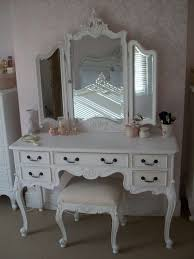 vintage vanity table with mirror and bench makeup vanity desk bedroom furniture how to make a black desks ideas