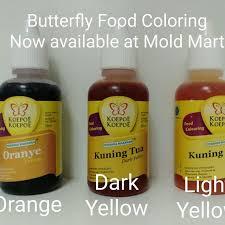 butterfly food coloring halal colour liquid for cakes agar agar