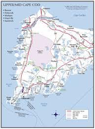 Massachusetts On A Map Cape Cod Maps Cape Cod Chamber Of Commerce