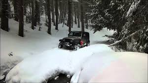 jeep snow wallpaper jeep wrangler wheeling deep snow offroad with washouts youtube