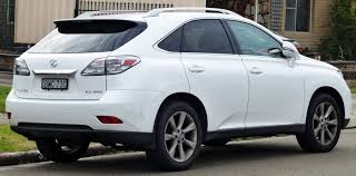 white lexus 2010 file 2009 2010 lexus rx 350 ggl15r sports luxury wagon 04 jpg