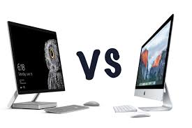 microsoft surface studio vs apple imac what u0027s the difference