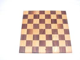 Chess Board Design Buy A Custom Walnut And Oak Checker Chess Board Design Cutting