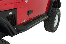 1997 jeep wrangler problems fishbone offroad fb23027 rock sliders for 97 06 jeep wrangler tj