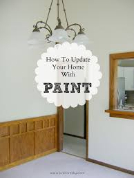 Outdated Home Decor by Livelovediy How To Paint Trim
