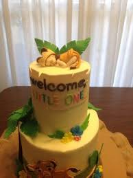 Lion King Baby Shower Cake Ideas - my baby shower cake made by my mom at bashas bakery it was