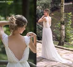 wedding dress discount discount ivory bohemian wedding dress beautiful lace wedding