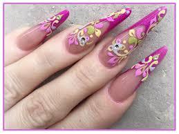 mester edina u2013 sugar effect körmök 3d nail art design