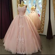 pink wedding dresses spaghetti straps v neck pink tulle wedding dresses gowns 2017