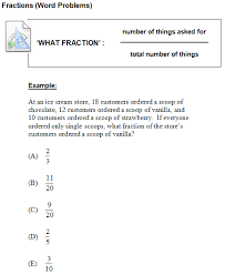 math problem fractions sat math fractions word problems sat unlocked ii