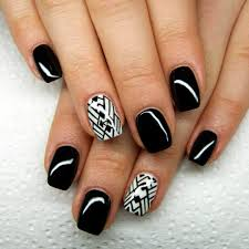 28 black stiletto nail art designs ideas design trends premium