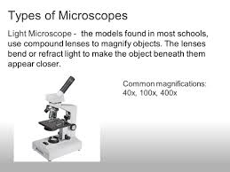 microscope use notes pg ntbk ppt video online download