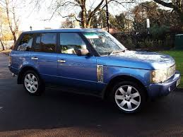 range rover blue monte carlo blue range rover hse td6 low miles not bmw x5 ml