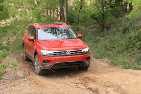 nissan rogue off road 2018 volkswagen tiguan off road review big bad and frugal