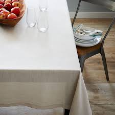 tablecloth for coffee table belgian flax linen tablecloth west elm