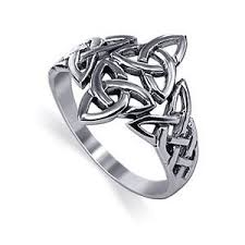 celtic rings celtic triquetra ring 925 sterling silver
