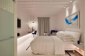plafond chambre a coucher design interieur mobilier luxe faux plafond ambiance tamisée canapé