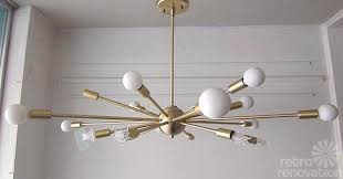 Chandelier Lights For Sale Sale Danish Mid Century Modern Style Chandelier Ufo Pendant