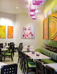 Interior Design Restaurant by Dining Room Cafe And Restaurant Design Ideas With Round Table