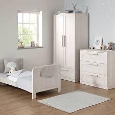 mamas u0026 papas atlas 3 piece nursery furniture set nimbus white