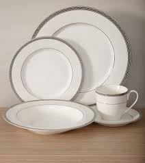 bone china platinum dinnerware set inspired style better living