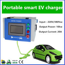 10kw portable ev fast charger for vw e up buy dc ev fast charger