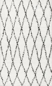 black and white moroccan rug rugs decoration