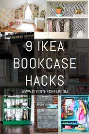 ikea bookshelves 9 ikea bookcase hacks erin spain