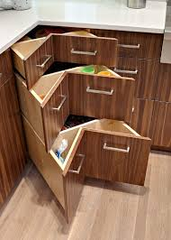 Corner Kitchen Cabinet Solutions by Large Kitchen Cabinet Drawers Kitchen