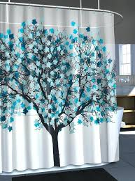Colored Shower Curtain Teal Colored Shower Curtains Teawing Co