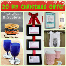Homemade Christmas Presents by Hello Happy Place 20 Easy Diy Christmas Gifts
