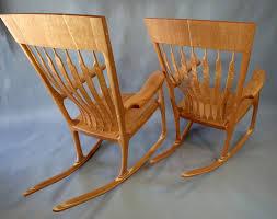 Real Wood Rocking Chairs Finished Rocking Chair Photographs Sarasota Custom Rocking Chairs