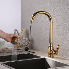 brass gold kitchen mixer promotion shop for promotional brass gold