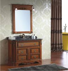fancy wooden bathroom cabinet mirrors 53 in with wooden bathroom