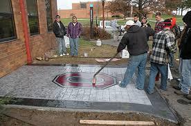Stamped Concrete Patio Maintenance How Do Concrete Stamping Contractors Handle Maintenance Concrete