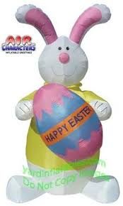 Easter Inflatable Lawn Decorations by Price Drop 4 Foot Easter Inflatable With Flower Yard